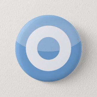 Argentina 6 Cm Round Badge