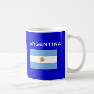 Argentina* AR Country Code Cup Basic White Mug