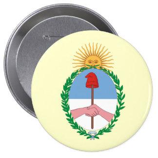 Argentina, Argentina 10 Cm Round Badge