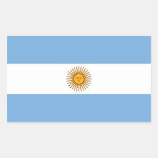Argentina/Argentine Flag Rectangular Sticker