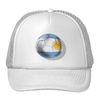 Argentina Argentine Soccer Ball Shirts Cap