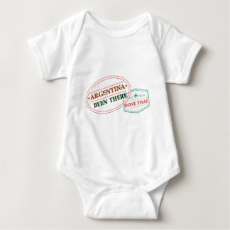 Argentina Been There Done That Baby Bodysuit