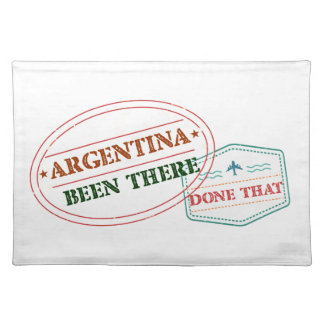 Argentina Been There Done That Placemat