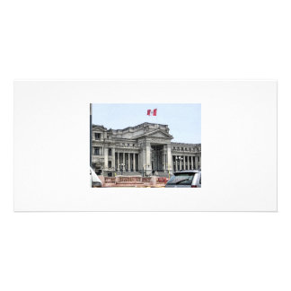 Argentina building2 photo greeting card