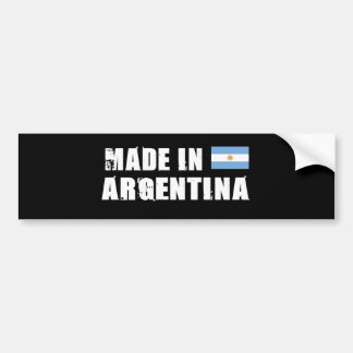 ARGENTINA CAR BUMPER STICKER