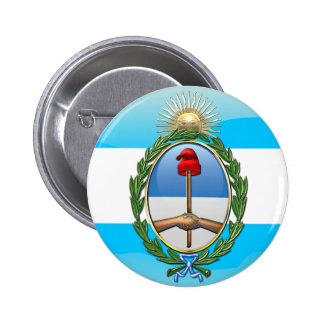 Argentina Coat of arms 6 Cm Round Badge