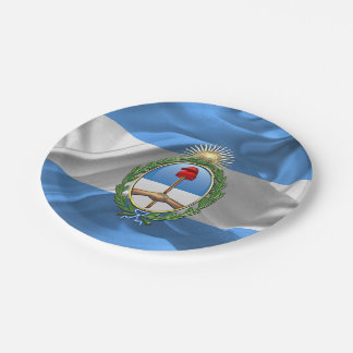 Argentina Coat of arms 7 Inch Paper Plate