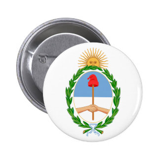Argentina Coat of Arms Button