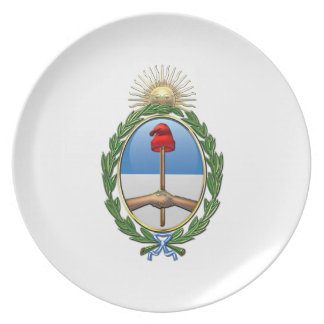Argentina Coat of arms Plates