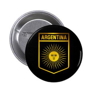 Argentina Emblem 6 Cm Round Badge
