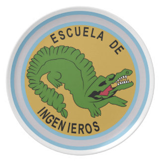 Argentina Especiales Military Badge Party Plates