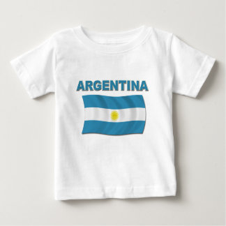 Argentina Flag 1 Baby T-Shirt