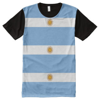 Argentina Flag - Bandera Argentina All-Over Print T-Shirt