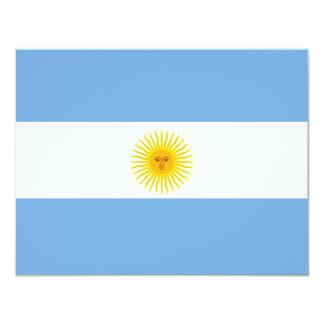 Argentina Flag Card