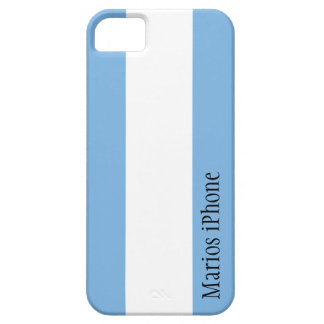 Argentina Flag Customizable iPhone 5 Case