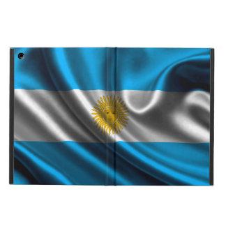 Argentina Flag Fabric iPad Air Case