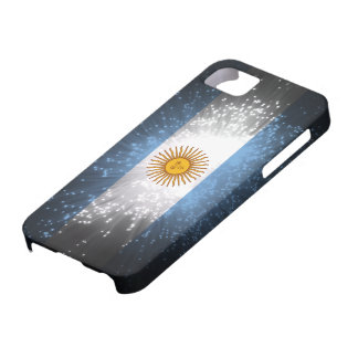 Argentina Flag Firework iPhone 5 Covers