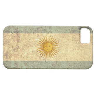 Argentina Flag - Grunge Barely There iPhone 5 Case