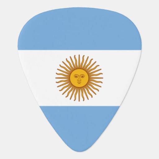 Argentina flag guitar pick for Argentine musicians Guitar Pick