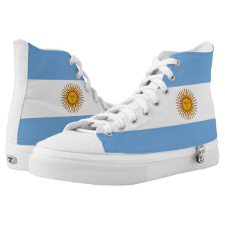 Argentina Flag High Tops