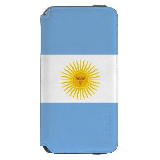 Argentina Flag Incipio Watson™ iPhone 6 Wallet Case