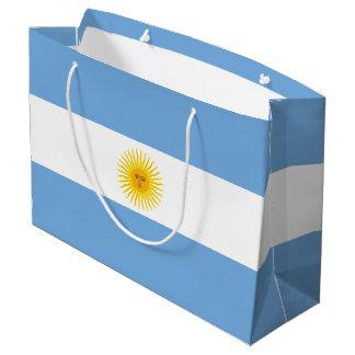 Argentina Flag Large Gift Bag