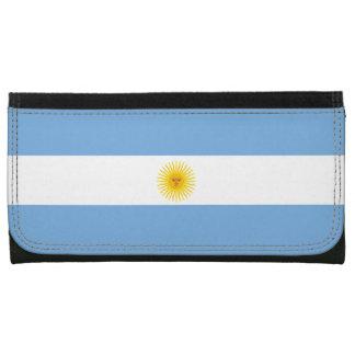 Argentina Flag Leather Wallet