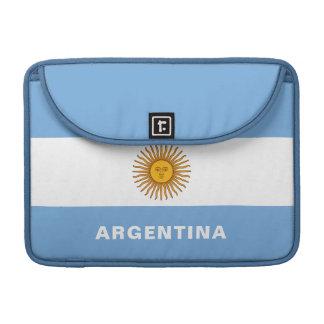 Argentina Flag MacBook Sleeve Pro
