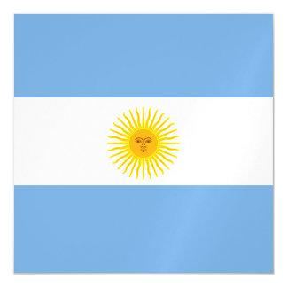 Argentina Flag Magnetic Card