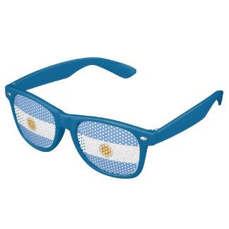 Argentina Flag Retro Sunglasses