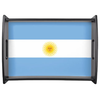 Argentina Flag Serving Tray