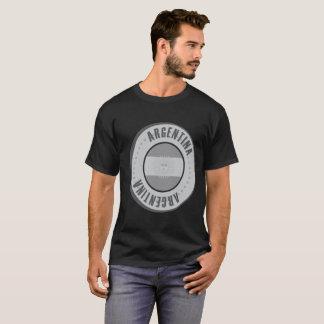 Argentina Flag Silver Coin T-Shirt