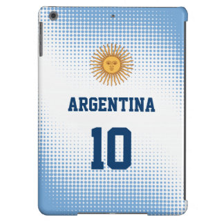 Argentina Flag Sun of May - Custom Player Number iPad Air Cover