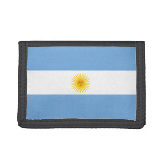 Argentina Flag Trifold Wallet