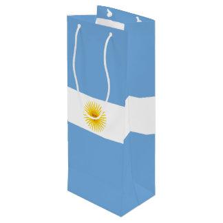 Argentina Flag Wine Gift Bag