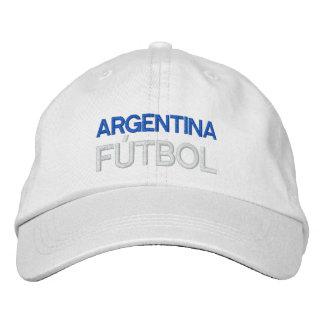 ARGENTINA FUTBOL EMBROIDERED BASEBALL CAP