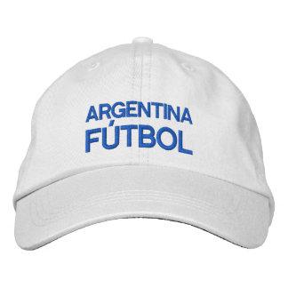 ARGENTINA FUTBOL EMBROIDERED BASEBALL CAPS