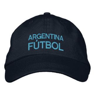 ARGENTINA FUTBOL EMBROIDERED HAT