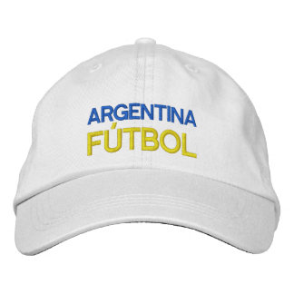 ARGENTINA FUTBOL EMBROIDERED HATS
