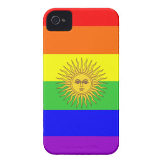 argentina gay proud rainbow flag homosexual Case-Mate iPhone 4 cases