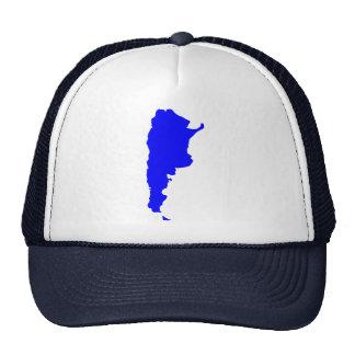 Argentina Map Cap
