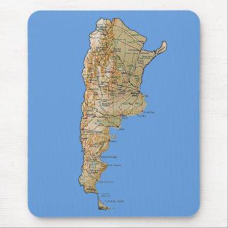 Argentina Map Mousepad