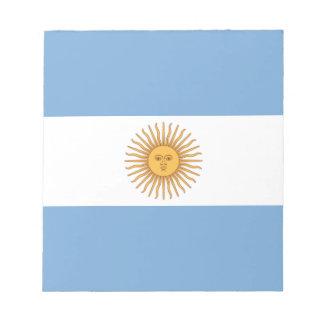 Argentina Notepad