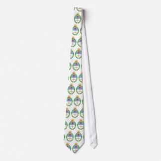 Argentina Official Coat Of Arms Heraldry Symbol Tie