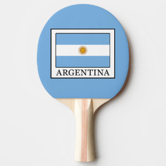 Argentina Ping Pong Paddle