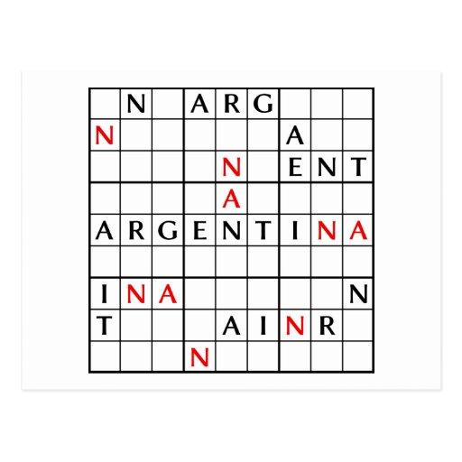 ARGENTINA POST CARD