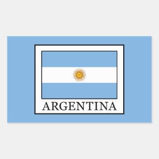 Argentina Rectangular Sticker