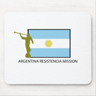 ARGENTINA RESISTENCIA MISSION LDS MOUSE PAD