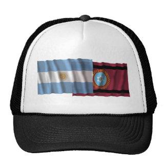 Argentina Salta waving flags Hats