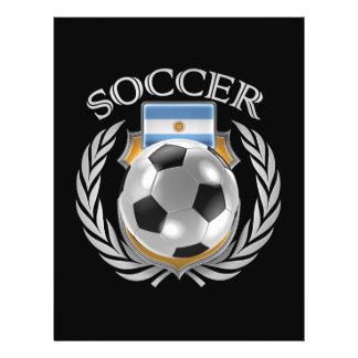 Argentina Soccer 2016 Fan Gear 21.5 Cm X 28 Cm Flyer